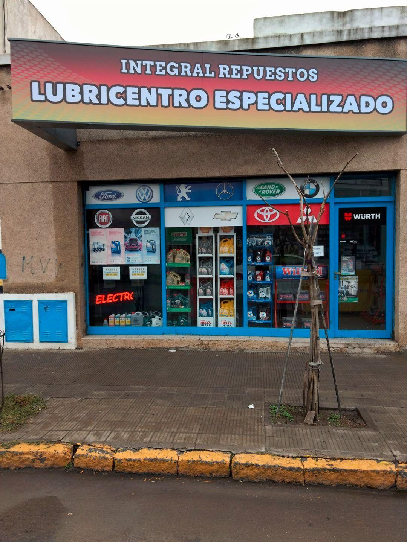 Logotipo Lubricentro  especializado – Integral repuestos