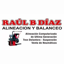 Logotipo Alineadora Raul B Diaz