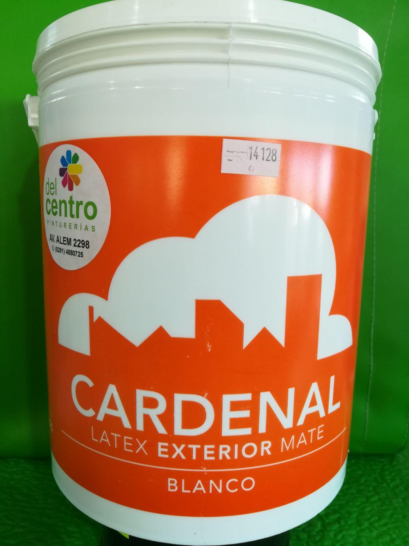 4fde77ad89a2b Latex exterior cardenal blanco 10l - Pinturerias Del Centro