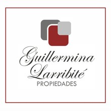 Logotipo Guillermina Larribite Propiedades
