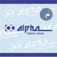 Logotipo de Alpha Bienes Raices