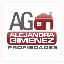 Logotipo Alejandra Gimenez Propiedades